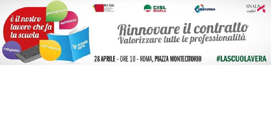 Presidio a Roma in piazza Montecitorio 28 aprile 2016
