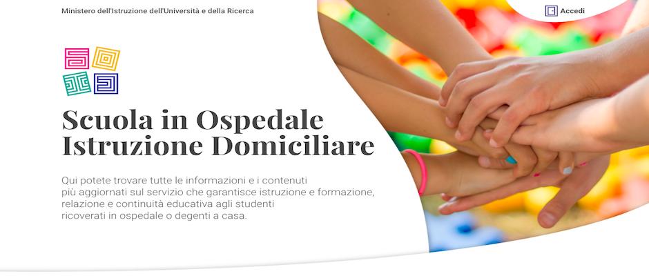 LA SCUOLA IN OSPEDALE: il Ministro Bussetti presenta il nuovo portale dedicato agli studenti che studiano in strutture ospedaliere o presso il proprio domicilio.