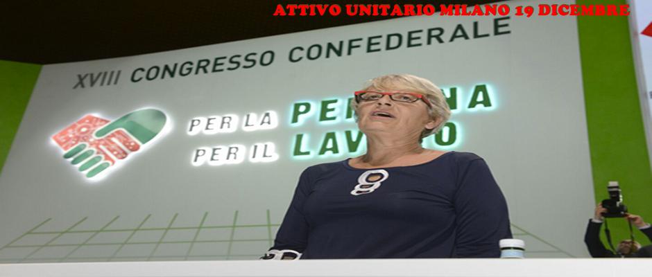CONVOCATI ATTIVI UNITARI A MILANO: Teatro Nuovo Piazza San Babila