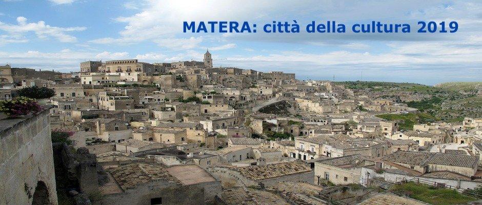 MATERA CITTA' e CAPITALE EUROPEA della CULTURA 2019 - 23 percorsi culturali