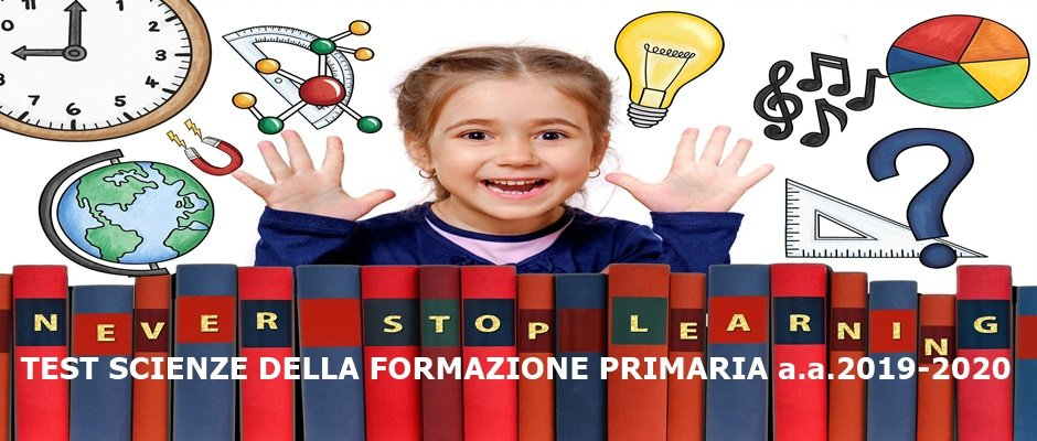 PUBBLICATO DM AMMISSIONE LAUREA SCIENZE DELLA FORMAZIONE PRIMARIA: per docenti scuola dell'Infanzia e Primaria. TEST il 13 settembre ore 11.00