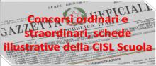 Concorsi docenti 2020 e procedure abilitanti - schede illustrative della CISL Scuola