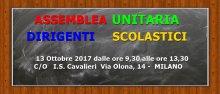 assemblea unitaria dirigenti scolastici lombardia