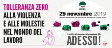 Giornata Internazionale contro la violenza sulle donne_2019