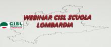 Webinar CISL Scuola Lombardia